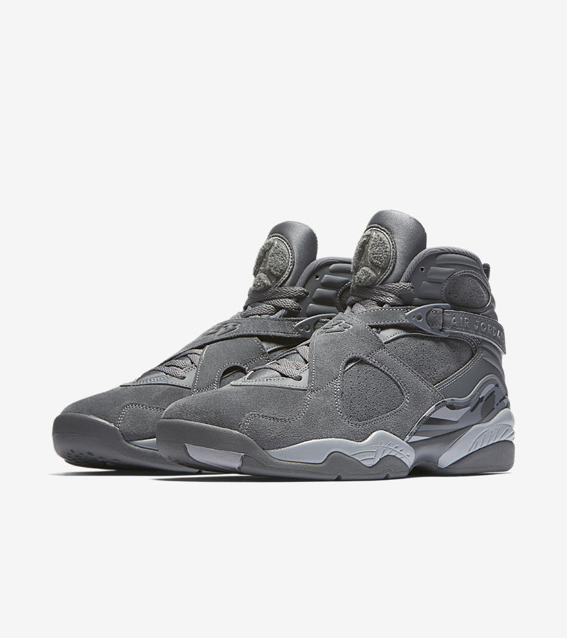 Air Jordan 8 Retro Wolf Grey