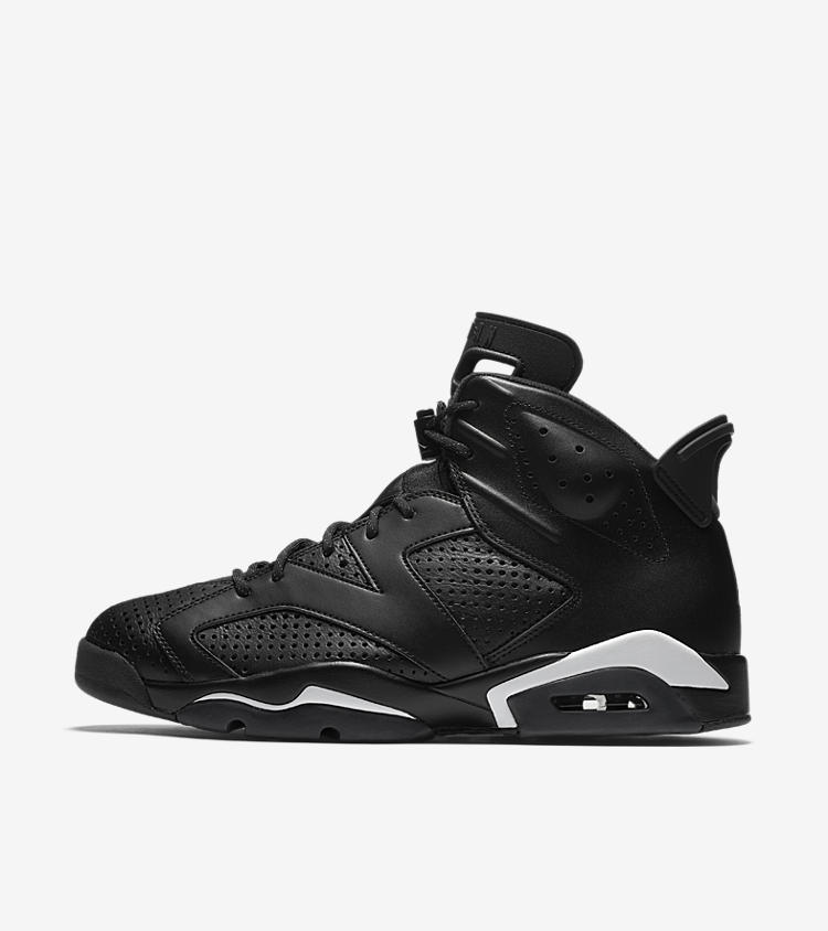 nike air jordan 6 retro black