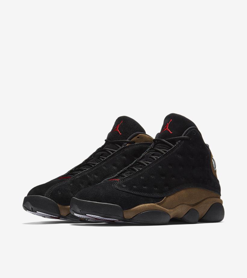 c68fc4d90ce Air Jordan 13 Retro Olive Olive Black 414571-006. Release Date  Jan 20