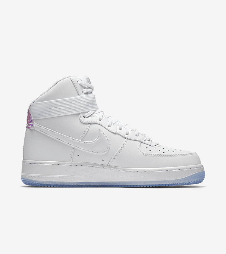 nike air force iridescent pearl
