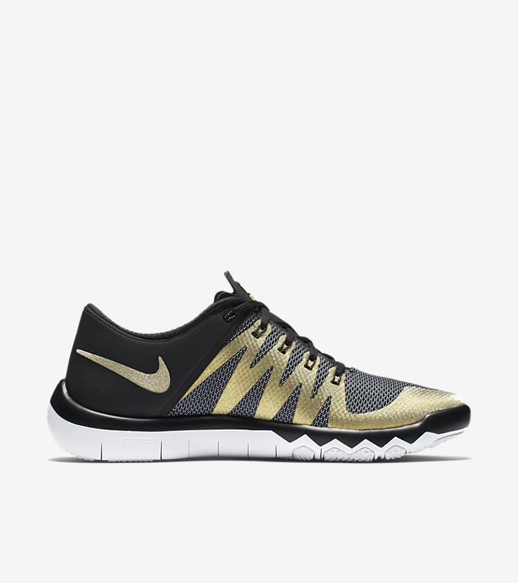 nike sb50 nike free trainer 5 0 v6 39 black metallic gold. Black Bedroom Furniture Sets. Home Design Ideas