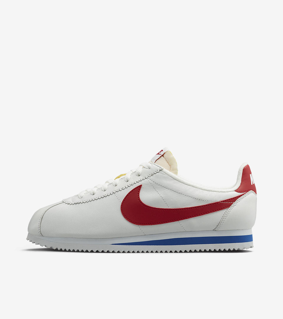 womens nike cortez red blue