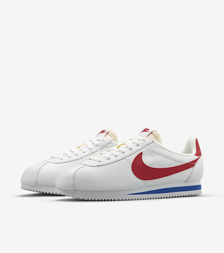 Nike Cortez Shoes Red Swoosh