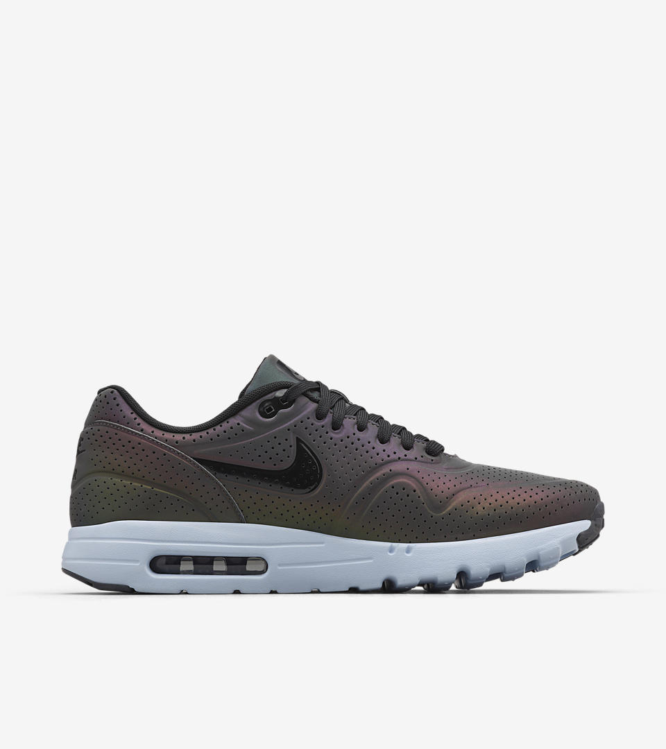 Nike Air Max 1 Schwarz Wildleder