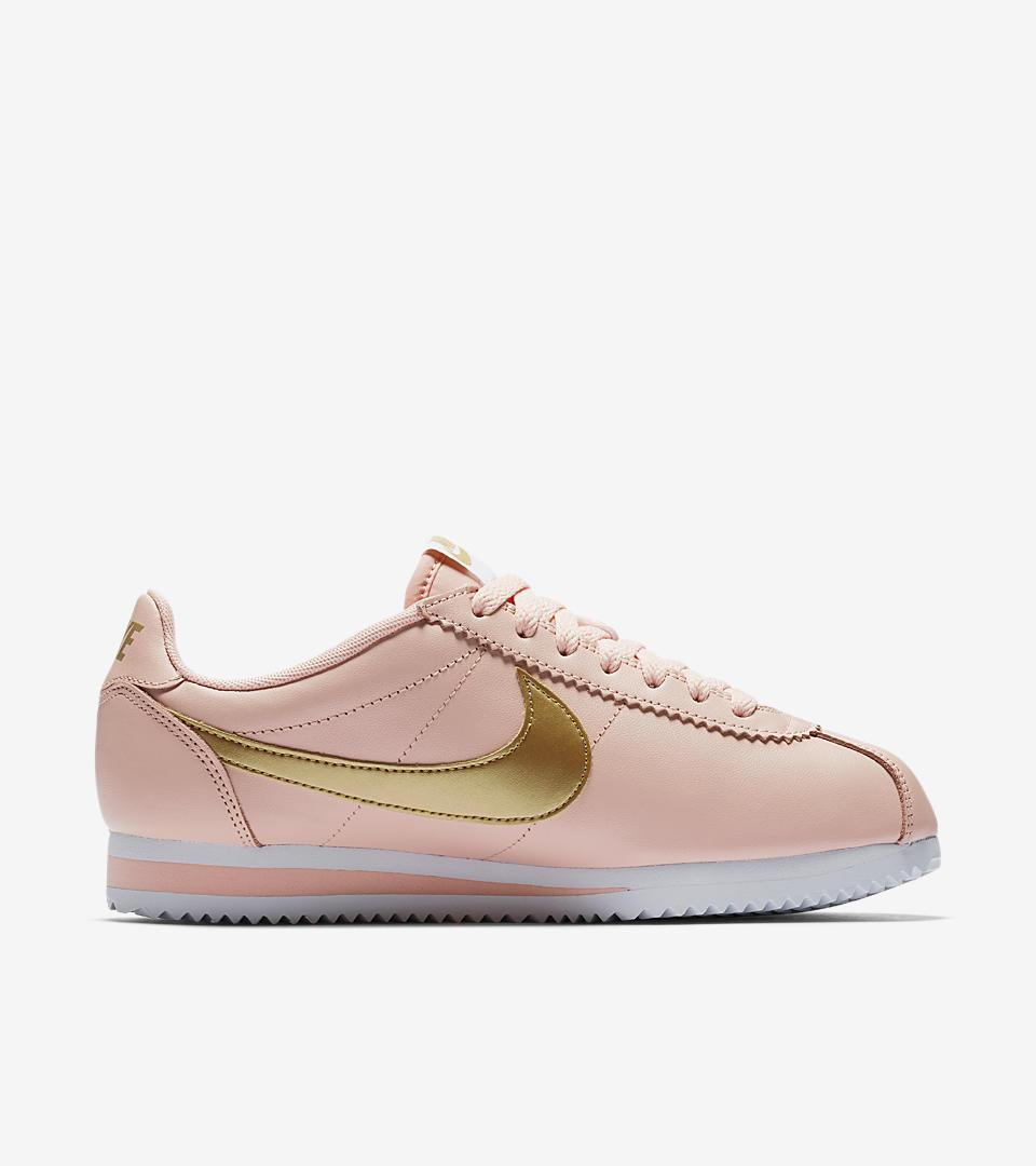 Nike Cortez Metallic Pink