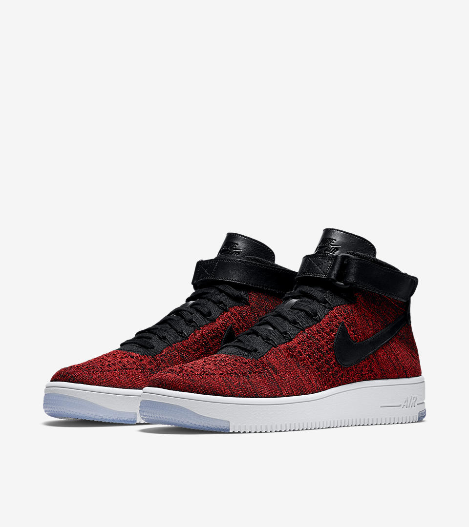 Nike Air Force Flyknit Red