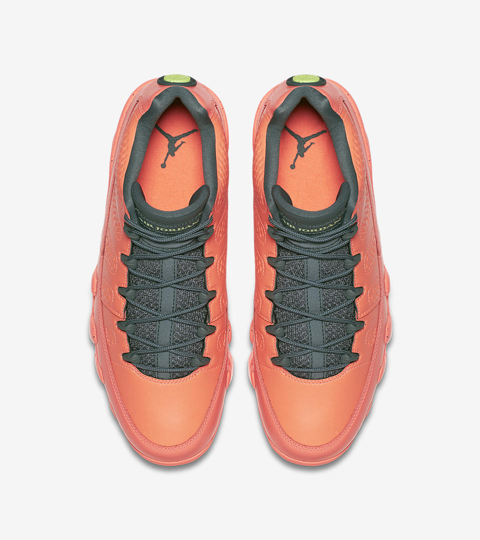 air nike jordan orange&grey