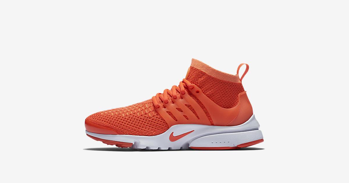 Women's Nike Air Presto Ultra Flyknit 'Bright Mango' Release Date. Nike+  SNKRS