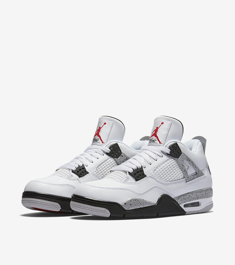 dc68fd6b2e1df Air Jordan 4 OG  White Cement