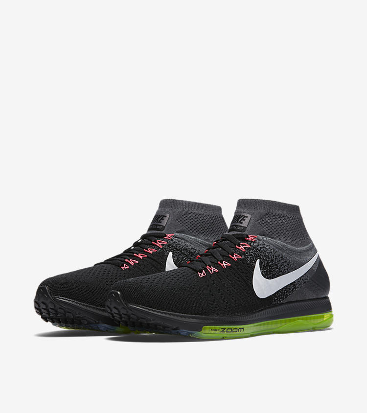 981c1e98c4cd ... Pegasus All Out Flyknit GS Red Orange Kids Youth Running 844979-800  Nike  Zoom All Out Flyknit - Women s - Orange   White ... ZOOM ALL OUT FLYKNIT .  ...