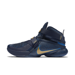 Nike Zoom LeBron Soldier 9 Flyease Basketball Mens Shoes - Midnight Blue