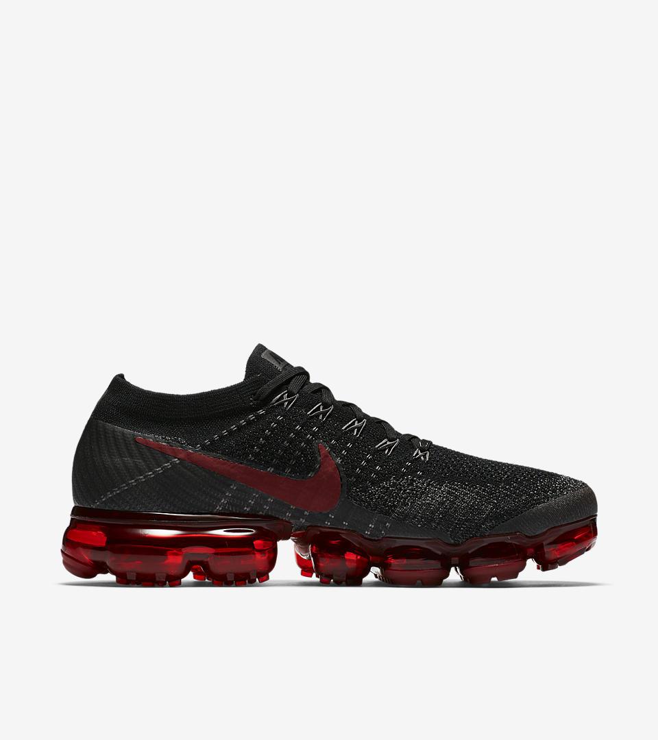 Nike Vapormax Grey Red Black