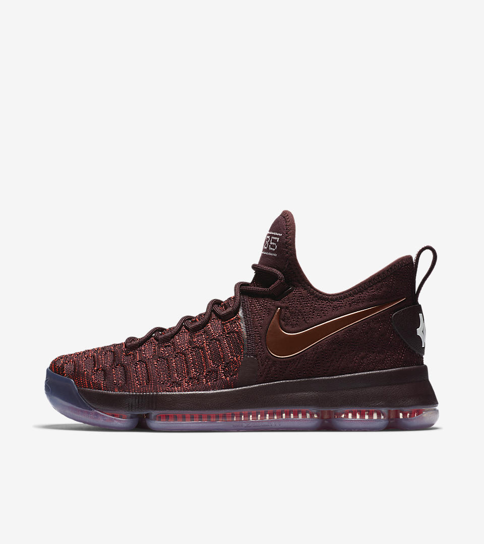 Men's Basketball Shoe Nike Zoom KD 9 852409-696