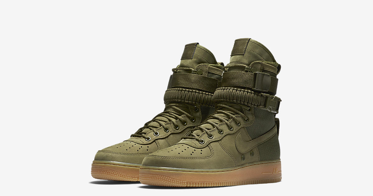 ... Nike Special Field Air Force 1 Faded Olive Gum Light Brown. Release  Date. d6442a1674