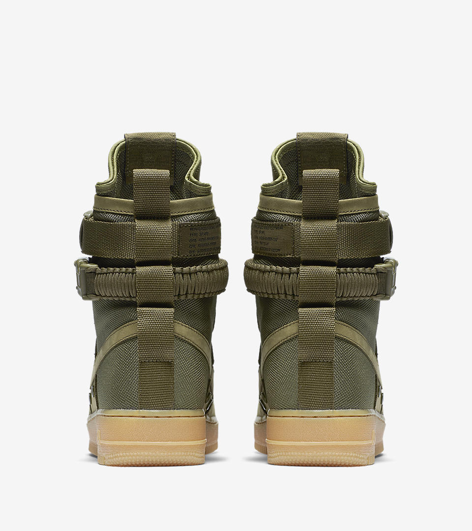 Nike Special Field Air Force 1 SF AF1 Faded Olive Gum Light Brown 859202 339 Mens Womens Casual Shoes Sneakers 859202 339h
