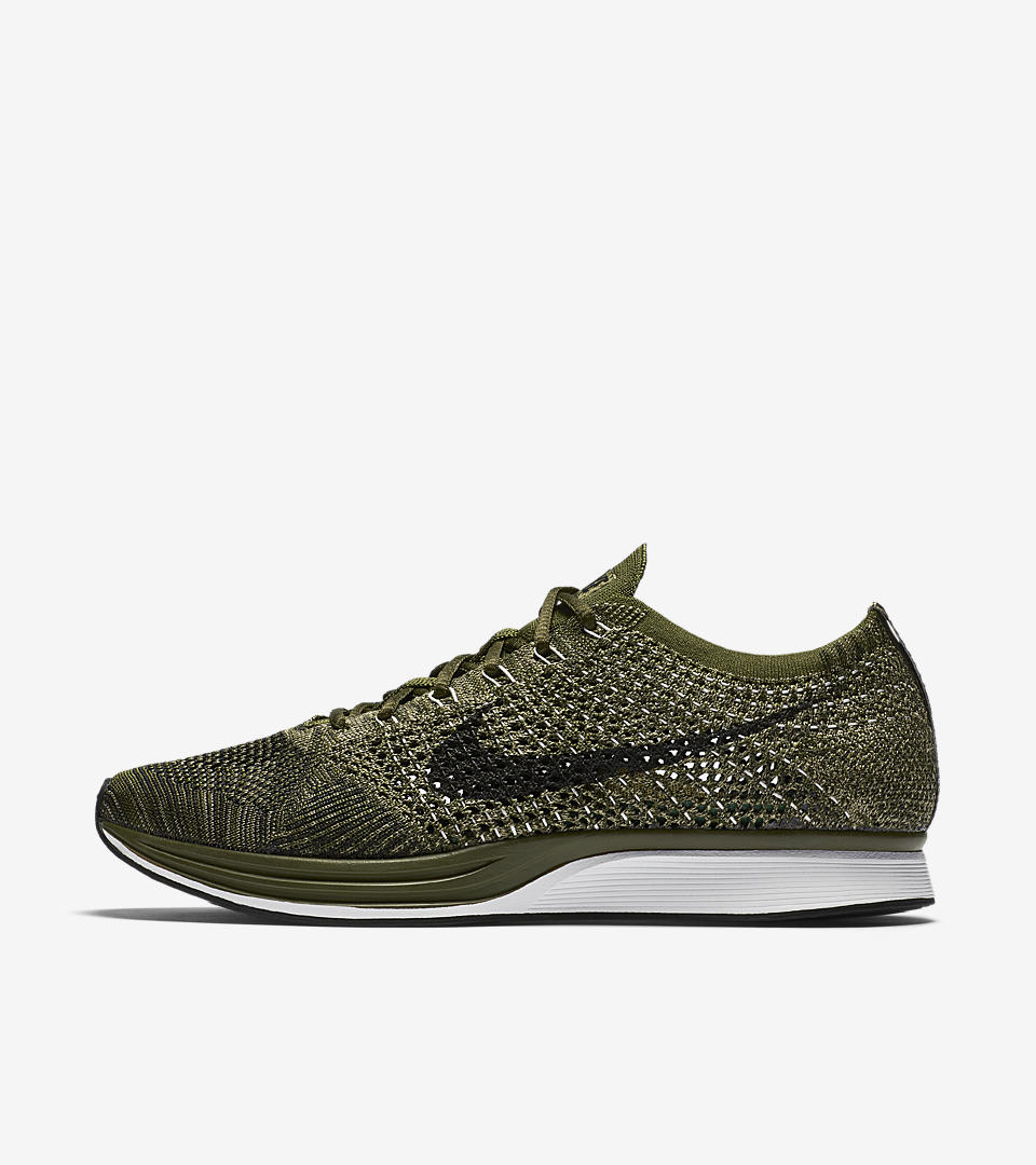 Nike Flyknit Racer Men's Green