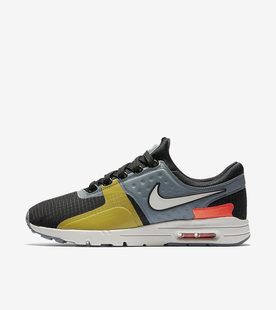 Womens Nike Air Max Zero Si Black/Grey/White Running Shoes 881173-001 All Sizes