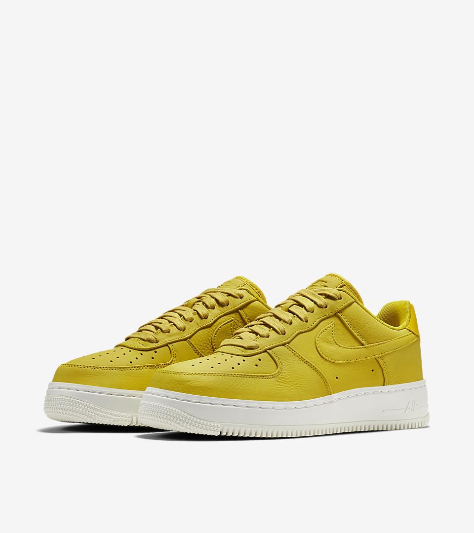 best sneakers d0ae8 3dc35 ... Citron NIKELAB AIR FORCE 1 LOW Nike Womens ...