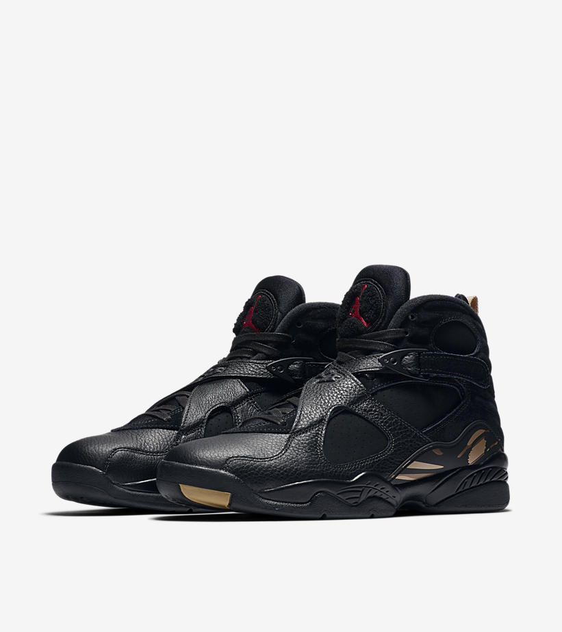 hot sale online 38f91 c7d70 Air Jordan 8 Retro OVO Black and White Colorway - HotKicks