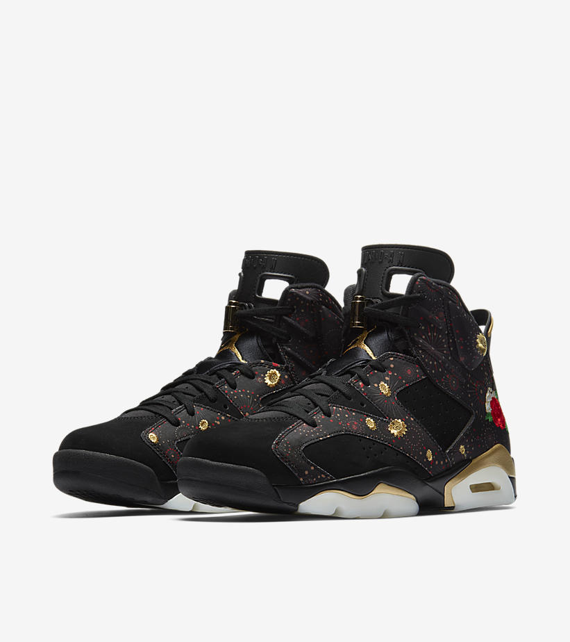 newest collection 319f6 ae3dd Air Jordan 6 Retro Chinese New Year - HotKicks