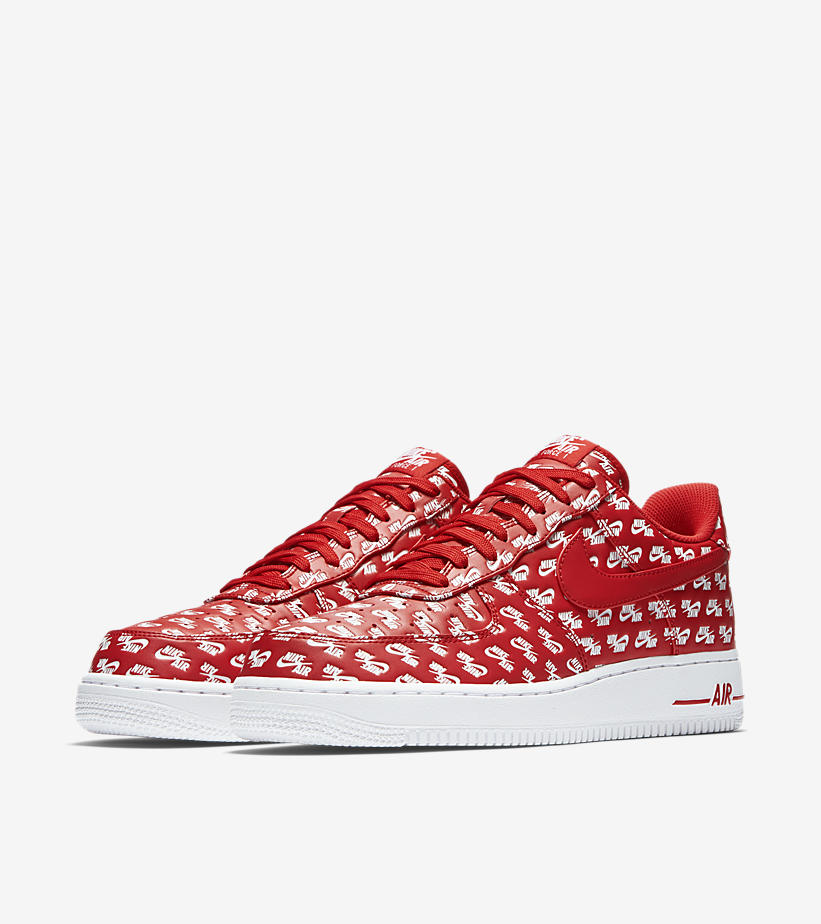 3bf15b25631 ... AIR FORCE 1 AIR EMBLAZONED (RED)