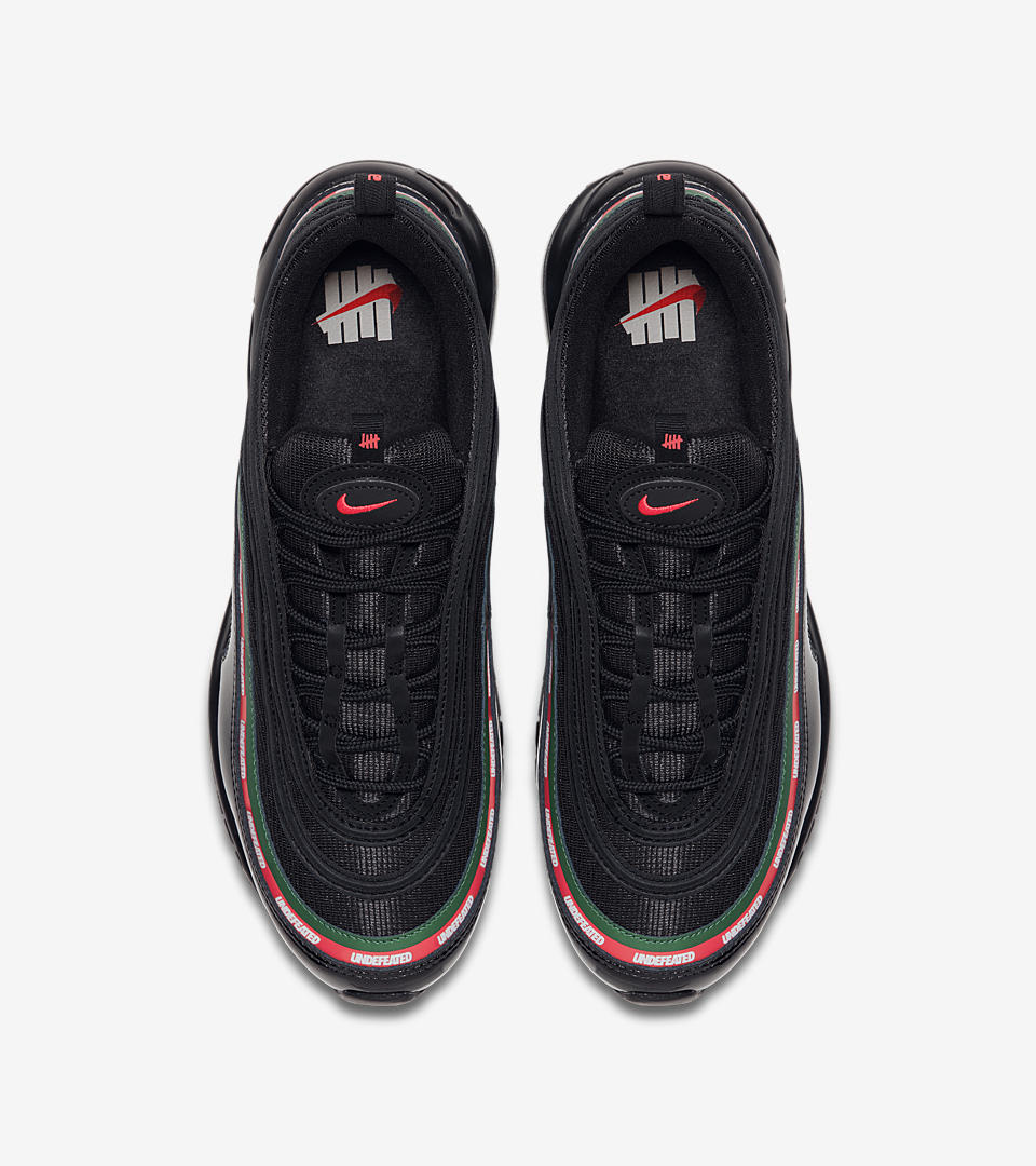 Cheap Nike Air Max 97 Silver Black Red TLR