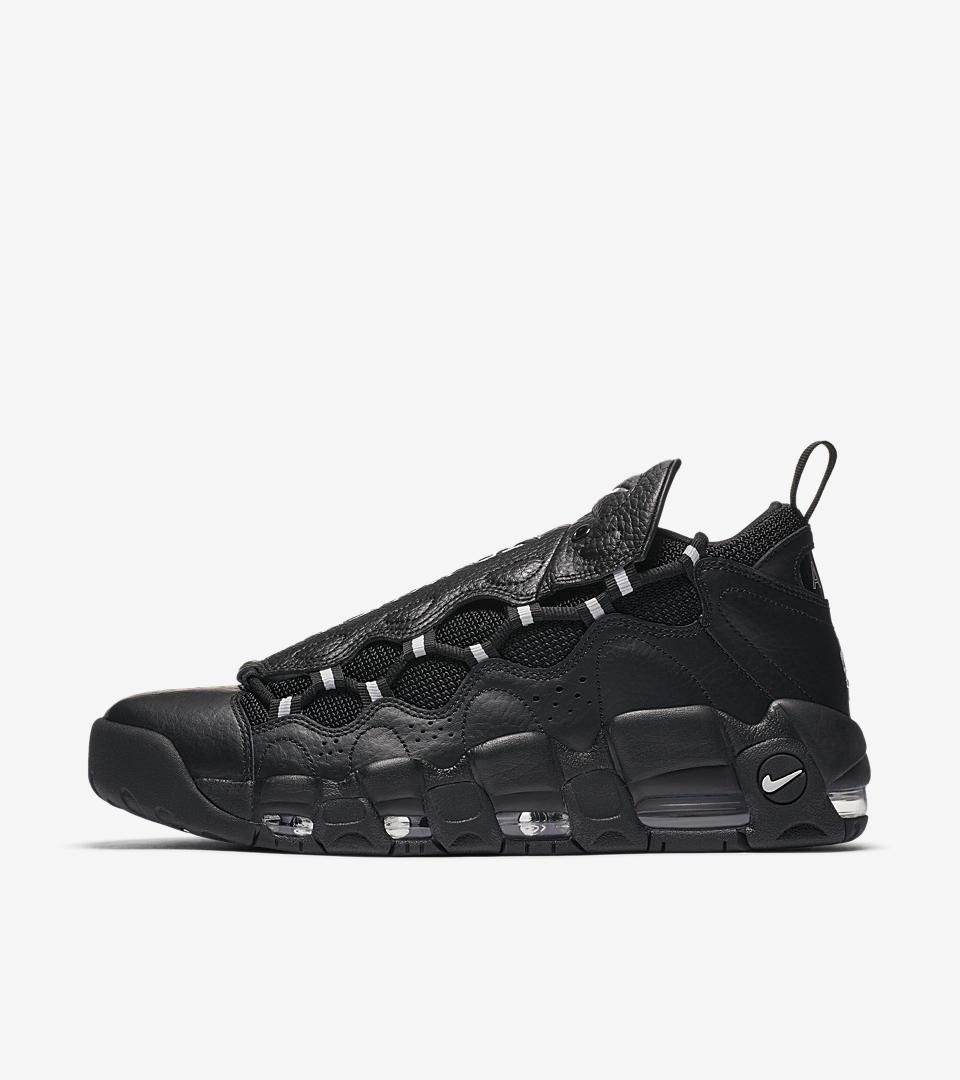 Nike Air More Money Basketball Black/Metallic Silver/Pure Platinum AJ2998 002