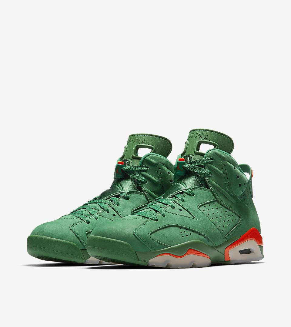 0c338ff9f3f7 air jordan 6 vi gatorade green release date aj5986 335 medial