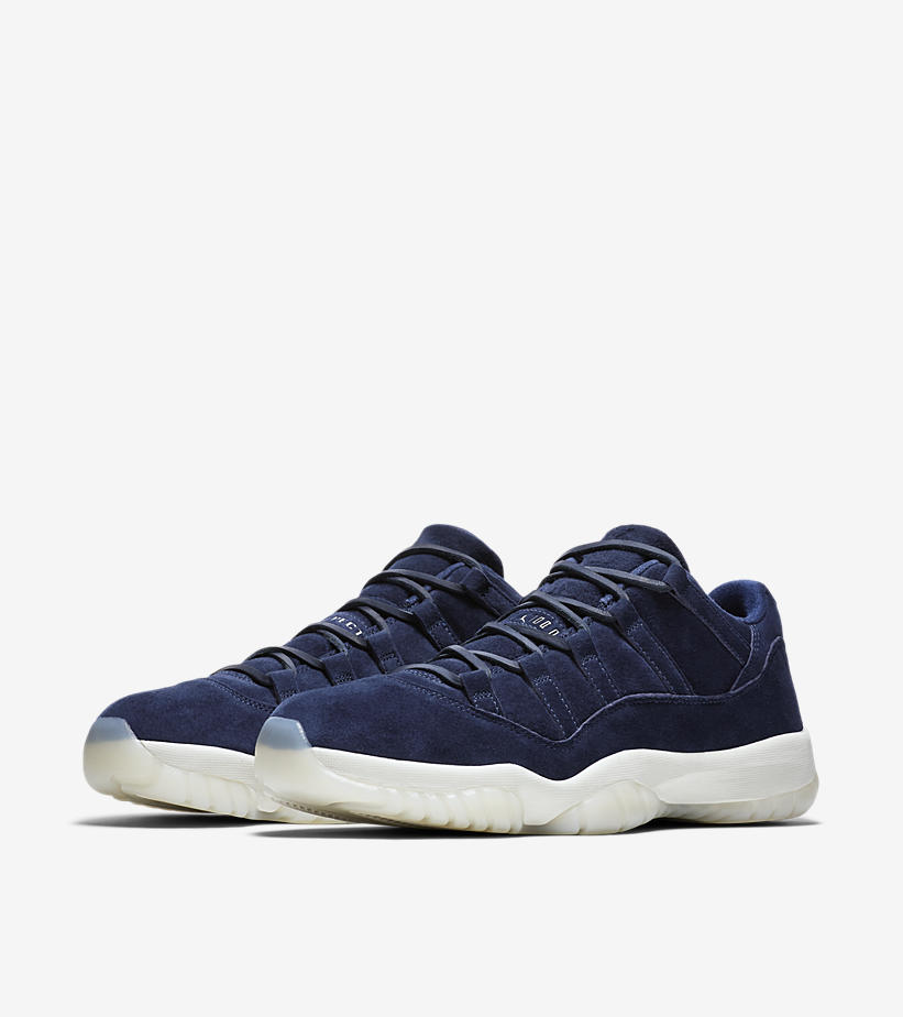 bf83bc7ee90bd2 Air Jordan 11 Low RE2PECT COLOR  Binary Blue Sail-Binary Blue SKUe   AV2187-441. Release Date  May 14