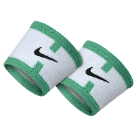 NikeCourt Dri-FIT Logo Tennis Wristbands (Yellow / Green)